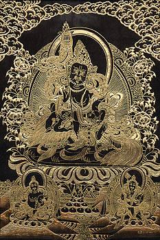 Serge Averbukh - Tibetan Thangka - Vaishravana