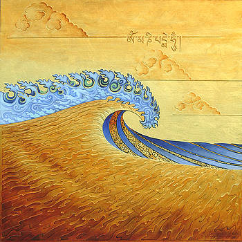 Tibetan Wave SOLD by Troy Carney