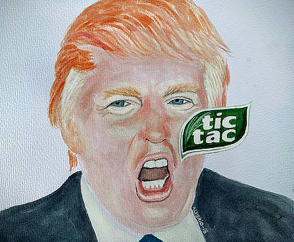 Tic Tac Trump by Edwin Alverio