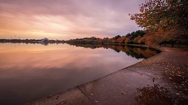 Tidal Basin in Fall 2 by Michael Donahue