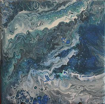 Tidal Movement Abstract  by Kate Farrant