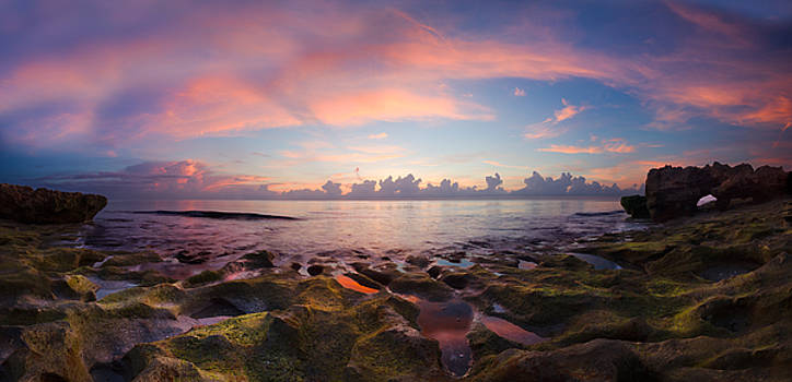 Debra and Dave Vanderlaan - Tidal Pools at Sunrise