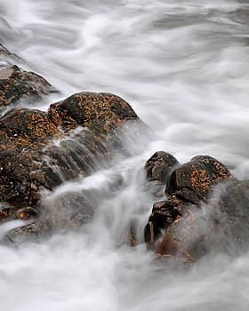 Tidal Wash, Sanna Bay, Scotland by David Stanley