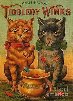 Peter Ogden - Tiddledy Winks Funny Victorian Cats