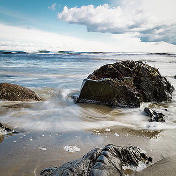 Tide Coming In #2 by Natalie Rotman Cote