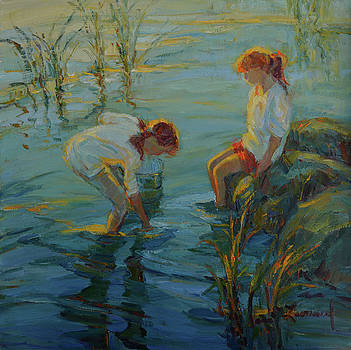 Tide Pools by Diane Leonard