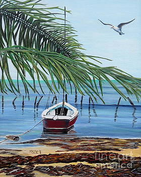 Tides Out by Marilyn  McNish