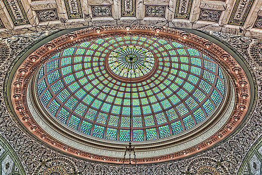 Nikolyn McDonald - Tiffany Dome - Chicago Cultural Center