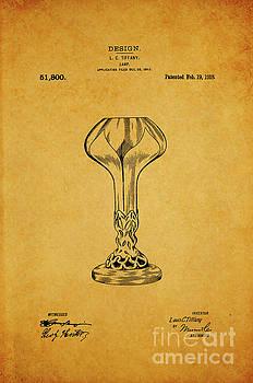 Tiffany Lamp Shade Patent 1918 1 by Nishanth Gopinathan