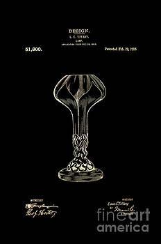 Tiffany Lamp Shade Patent 1918 3 by Nishanth Gopinathan
