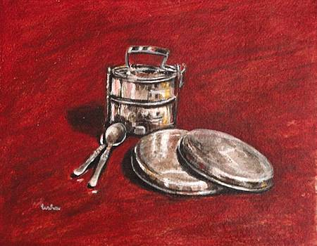 Usha Shantharam - Tiffin Carrier - Still Life