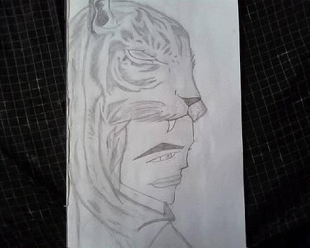Tiger Boy by Dorine Coello