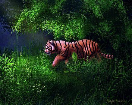 Angela Murdock - Tiger Cub in Forest