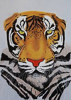 Tiger by Donna Wilson
