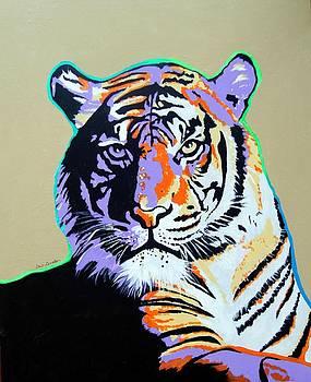 Tiger by Gail Zavala