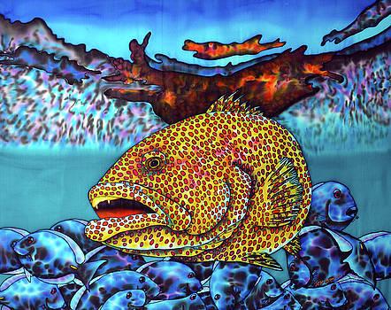 Tiger Grouper Fish by Daniel Jean-Baptiste