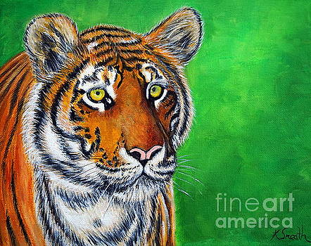 Tiger by Kirsten Sneath