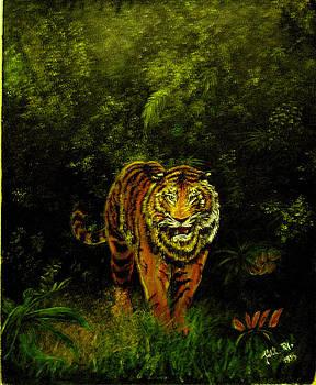 Tiger majesty by Peter Kulik