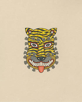 Tiger Mask of the Folk Tradition by Matt Leines