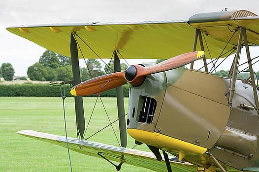 Tiger Moth propeller by Gary Eason