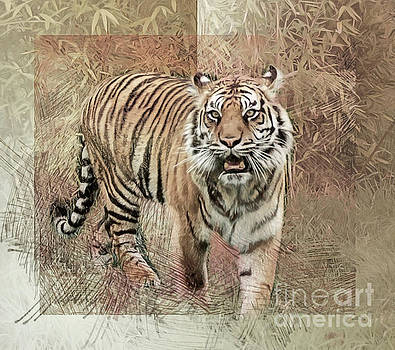 Tiger Tapestry by Brian Tarr