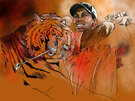 Miki De Goodaboom - Tiger Woods or Earn Your Stripes