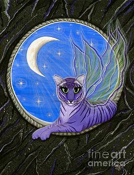 Tigerpixie Purple Tiger Fairy by Carrie Hawks