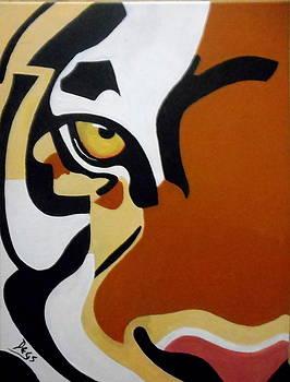Tiger's eye by Chris Degenhardt