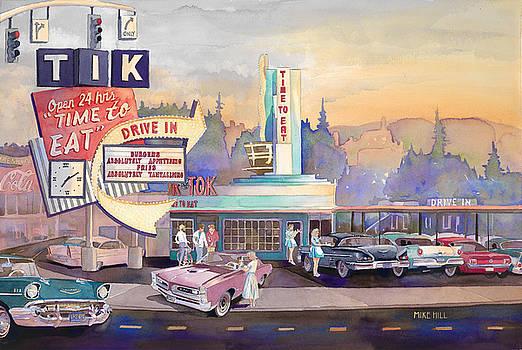 Tik Tok Drive-Inn by Mike Hill