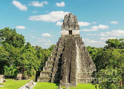 Tim Hester - Tikal Jaguar Temple Guatemala