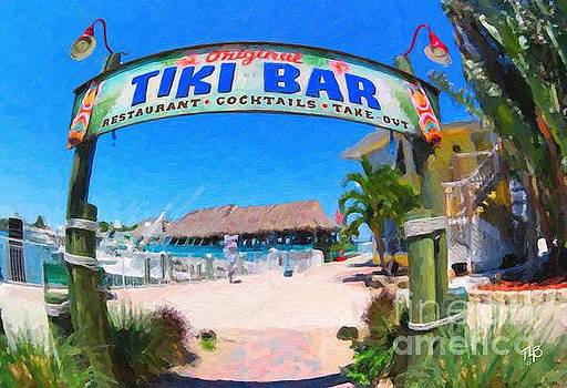 Tiki Bar by Tammy Lee Bradley