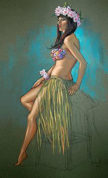 Tiki Girl  by Johanna Girard