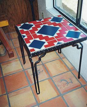 Tiled Table Top by Patrick Trotter