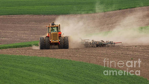 Tilling the Palouse by Jerry Fornarotto