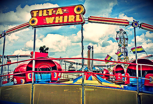 Tilt-A-Whirl Carnival Ride by Eye Shutter To Think