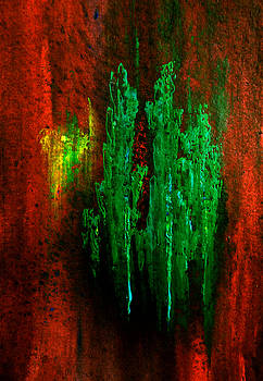 Valerie Anne Kelly - Timberland-Abstract Painting By V.kelly