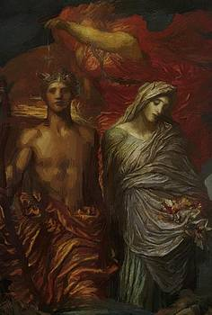 Watts George Frederick - Time Death And Judgement 1886