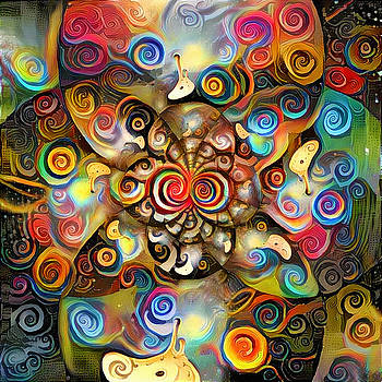 Time Fractal by Bruce Rolff