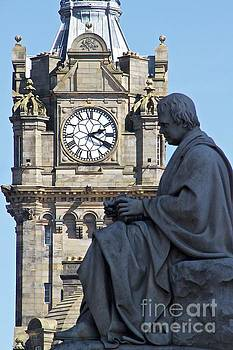 Time in Edinburgh by Don Kenworthy