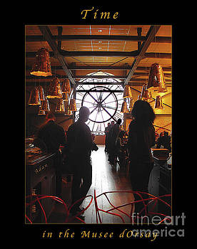 Felipe Adan Lerma - Time in the Musee dOrsay Cafe Poster