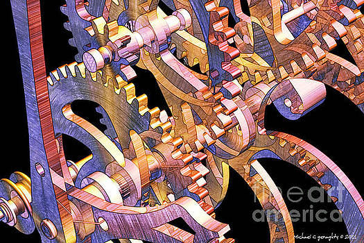 Time Mechanics V1 by Michael Geraghty
