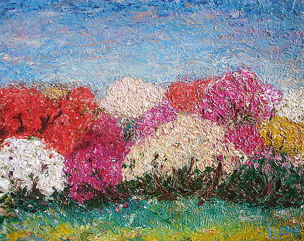 Time of Rhododendron by Inga Leitasa ArtBonBon
