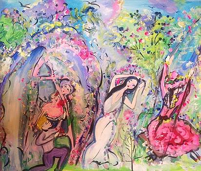 Time will tell garden  by Judith Desrosiers