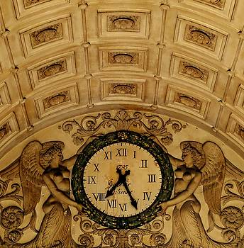 Timekeepers of the Galerie Vivienne. Paris. by John Tschirch
