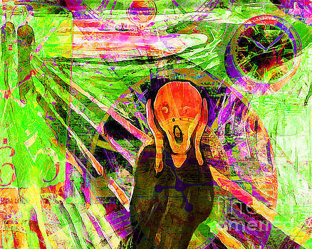 Timeless Art The Scream 20160305 horizontal by Wingsdomain Art and Photography