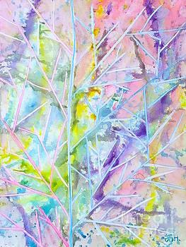 Times in a leaf by Wonju Hulse