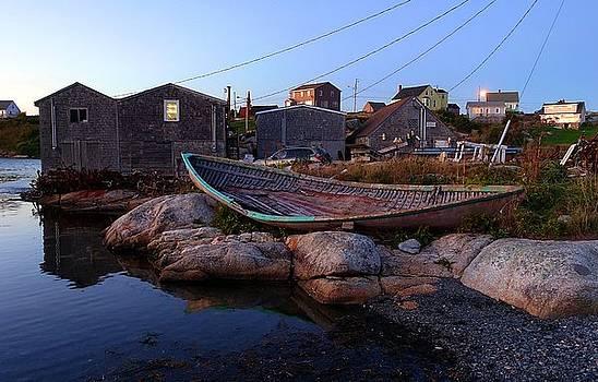 Peggy's Cove, Nova Scotia by Heather Vopni
