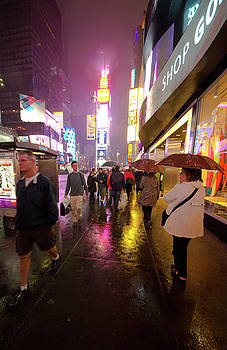 Mike Shaw - Times Square at Night