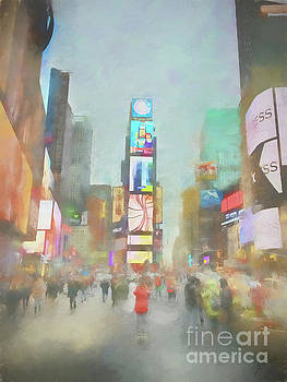Times Square by Erika Weber