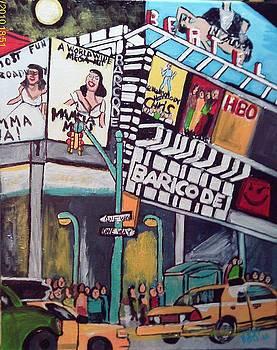 Times Square by Jeffrey Foti